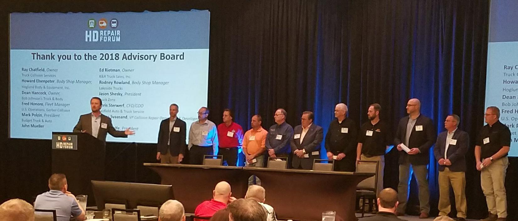 The HD Repair Forum Announces Advisory Board for 2018-2019